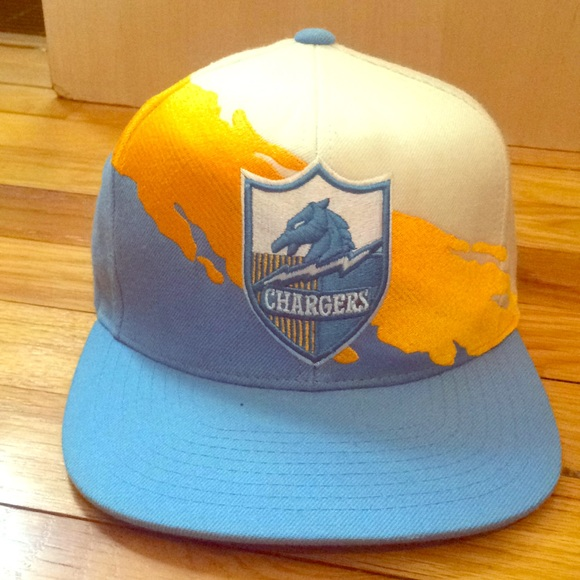 ccc1625412bbaf Mitchell & Ness Accessories | San Diego Chargers Snapback Hat ...